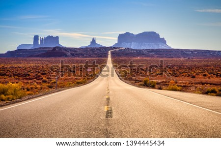 Road to Monument Valley, Monument Valley, Utah #1394445434