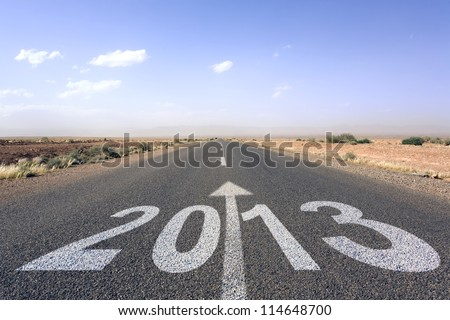 road to new year 2013