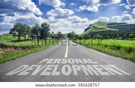 road to personal development Сток-фото ©