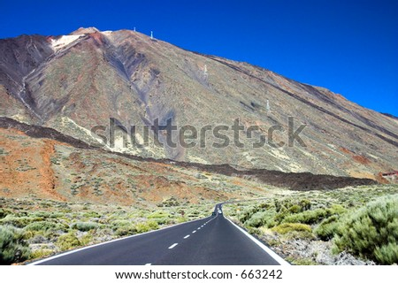 Road to the mountain