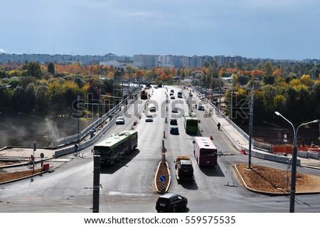 Road traffic of transportation  #559575535