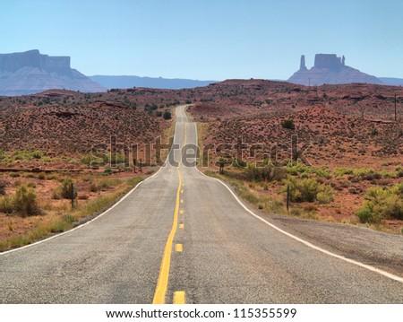 Road trip, Utah, USA