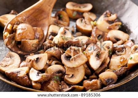 roasted mashrooms