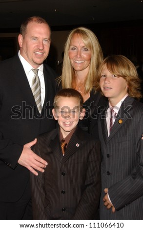 Rob Moore and family at the National MS Society\'s \
