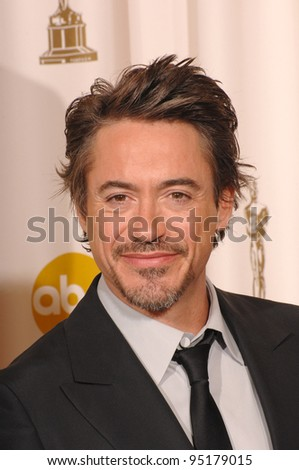 Robert Downey Jr at the 79th Annual Academy Awards at the Kodak Theatre, Hollywood. February 26, 2007  Los Angeles, CA Picture: Paul Smith / Featureflash