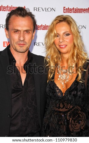 Robert Knepper and wife Tory at Entertainment Weekly s 5th Annual Pre    Robert Knepper Wife