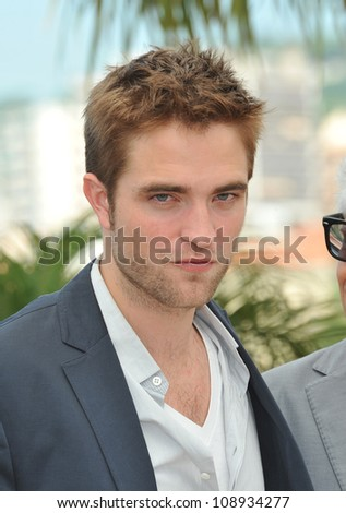 "Robert Pattinson at the photocall for his new movie ""Cosmopolis"" in competition at the 65th Festival de Cannes. May 25, 2012  Cannes, France Picture: Paul Smith / Featureflash"