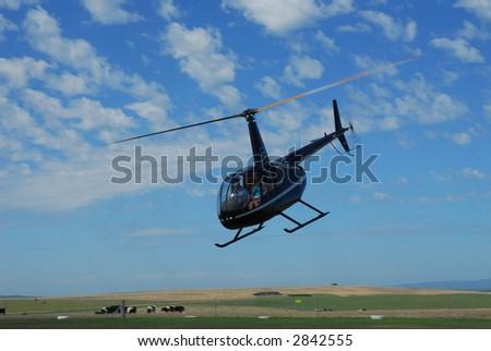 Robinson R44 Helicopter - Australia