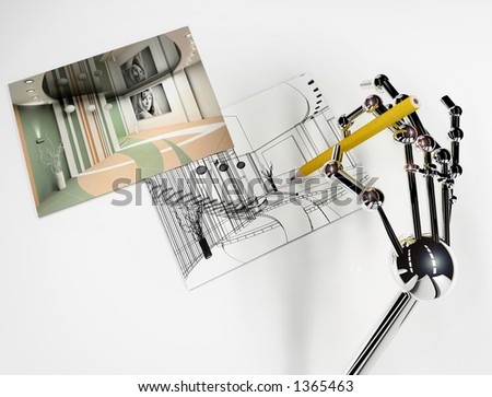 Stock Photo robot