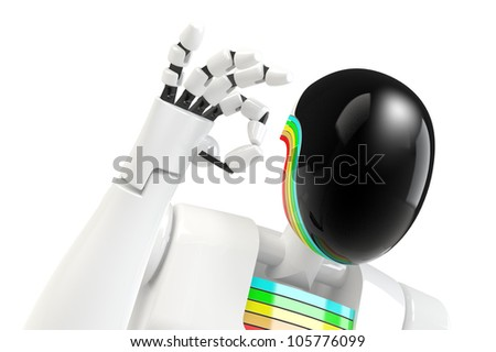 robot hand OK sign