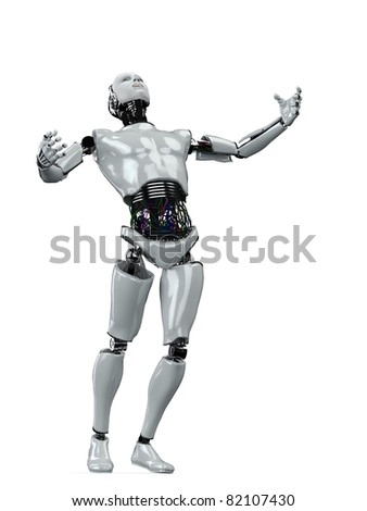 robot power pose