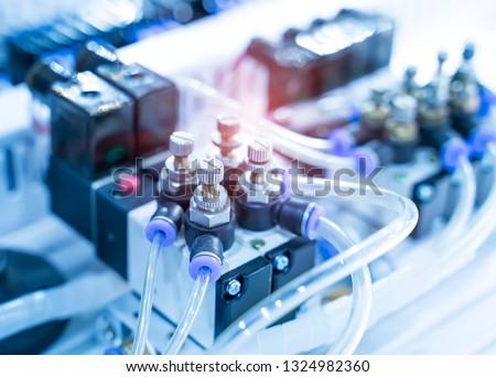 robotic pneumatic input to robot handle