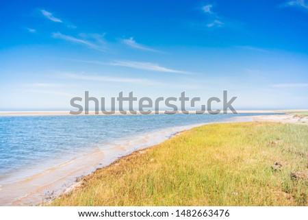 Rocha Lagoon landscape at Uruguay. Foto stock ©