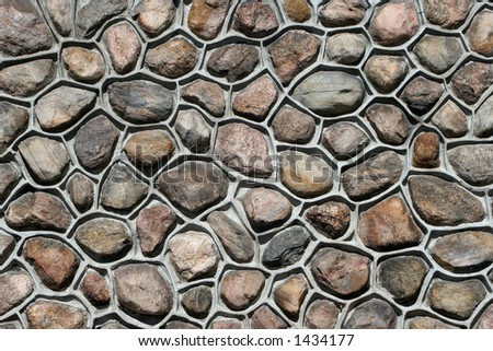 rock and cement wall background
