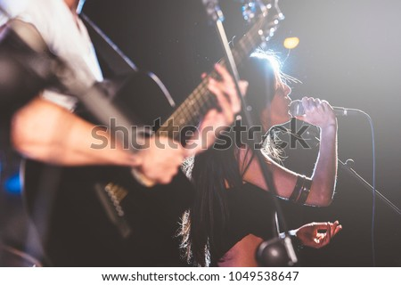 Rock and roll live group