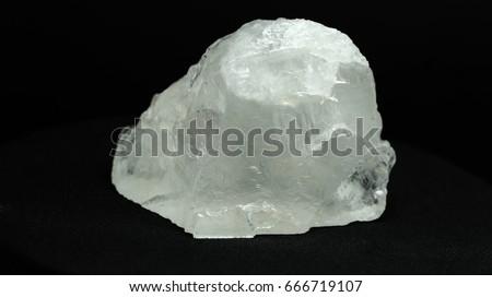 Rock Crystal.natural gemstone.Natural Still not cut