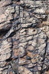Rock Face, Cliff, Mineral Deposits