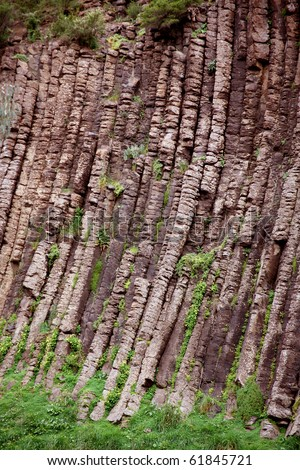 rock formation called organ pipes in australia