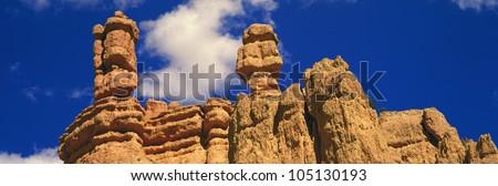 Rock Formations, Bryce National Park, Utah