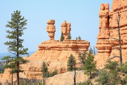 Rock formations in Red Canyon near Bryce Canyon National Park, Utah, USA