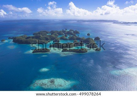 rock island aerial photography #499078264