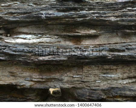 Rock layer stone layering stone formation #1400647406
