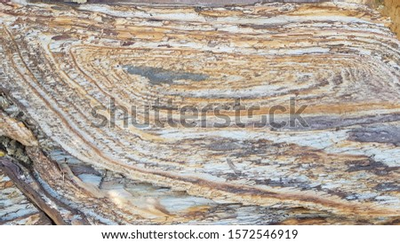 Rock layers,background and texture of mountain #1572546919