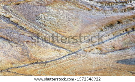 Rock layers,background and texture of mountain #1572546922