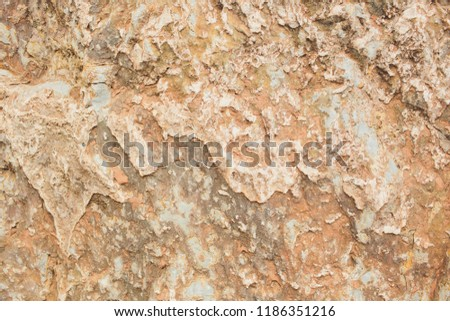 Rock layers - colorful formations of rocks stacked over hundreds of years. Interesting background with fascinating texture. #1186351216