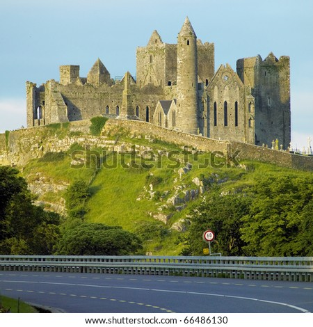 Rock of Cashel, County Tipperary, Ireland - stock photo