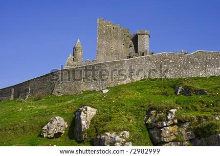 Rock of Cashel (Irish: Carraig Ph�¡draig) medieval ruins in Ireland, county Tipperary