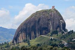 Rock of Guatape, Piedra De Penol, near Medellin, Colombia, South America