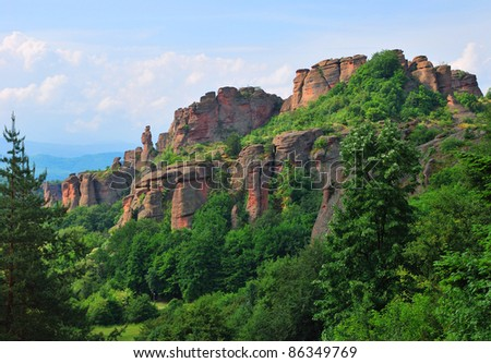 Rock phenomenon in Bulgaria, Belogradchik Rocks