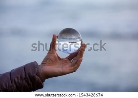 rock reflected in the sea #1543428674