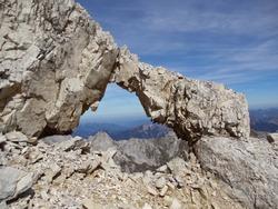 rock-sculpture in the austrian alps