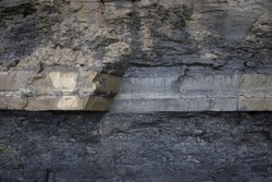 Rock strata, Jurassic Coastline, Dorset