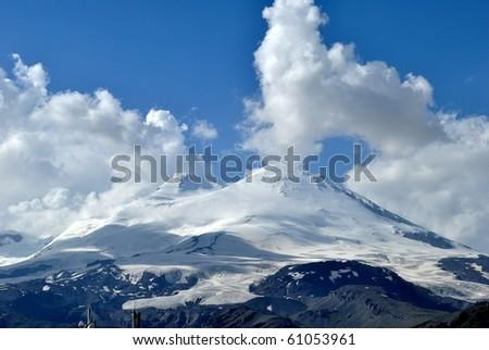 rock, tourism, horizon, winter, mountain, landscape, cold, snow, sport