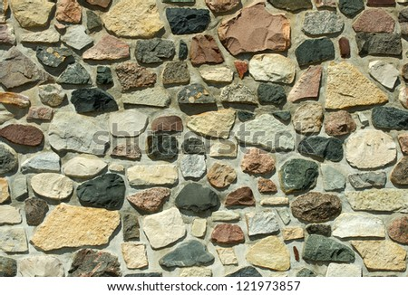 Rock wall background.