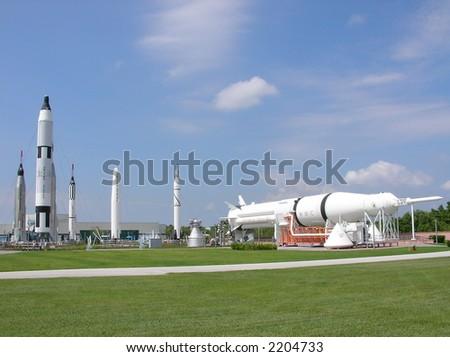 Rocket Garden at NASA