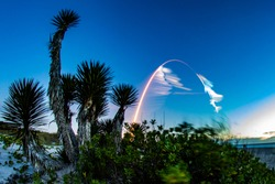 Rocket Launch From Space Coast Florida