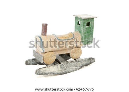 Rocking Train - stock photo