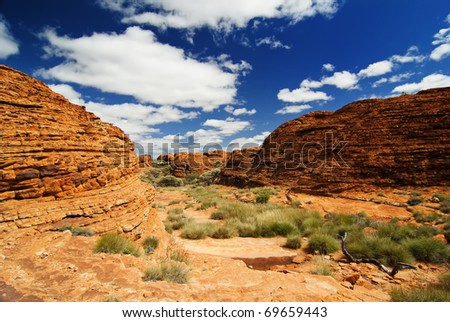 Rocks in Outback