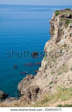 rocks with sea