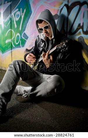 rockstar on the street