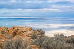 Rocky Antelope Island