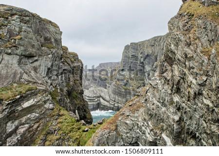 rocky coastline in the west of ireland #1506809111