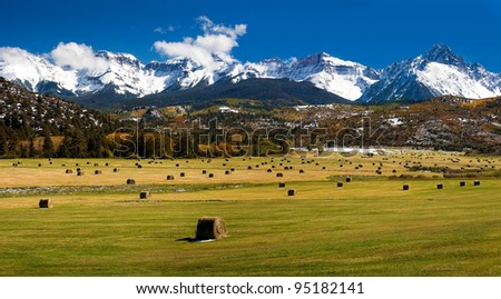 Rocky Mountain Colorado Autumn