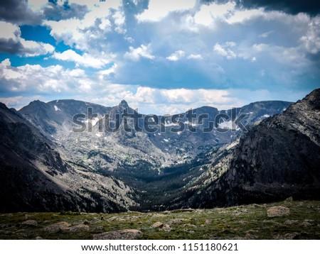 Rocky Mountain National Park from the Tundra Region #1151180621