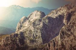Rocky Mountains Landscape beautiful Caucasus nature