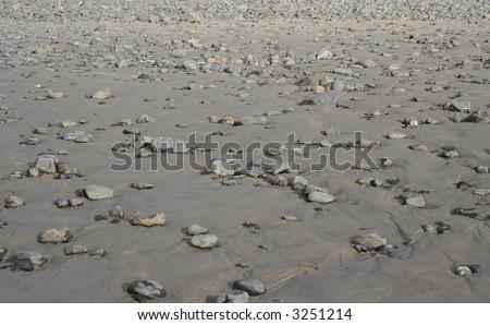 Rocky Pacific Coastline Background